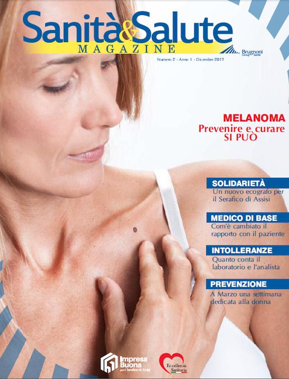 Brugnoni Group Sanità - Copertina Magazine n.2 anno 1 - Dicembre 2017